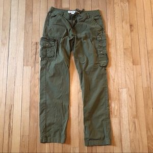 J. Crew utility pants.